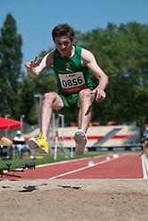 DALLE AVE Andrea, RSA, Long Jump, T37/38, 2013 IPC Athletics World Championships, Lyon, France
