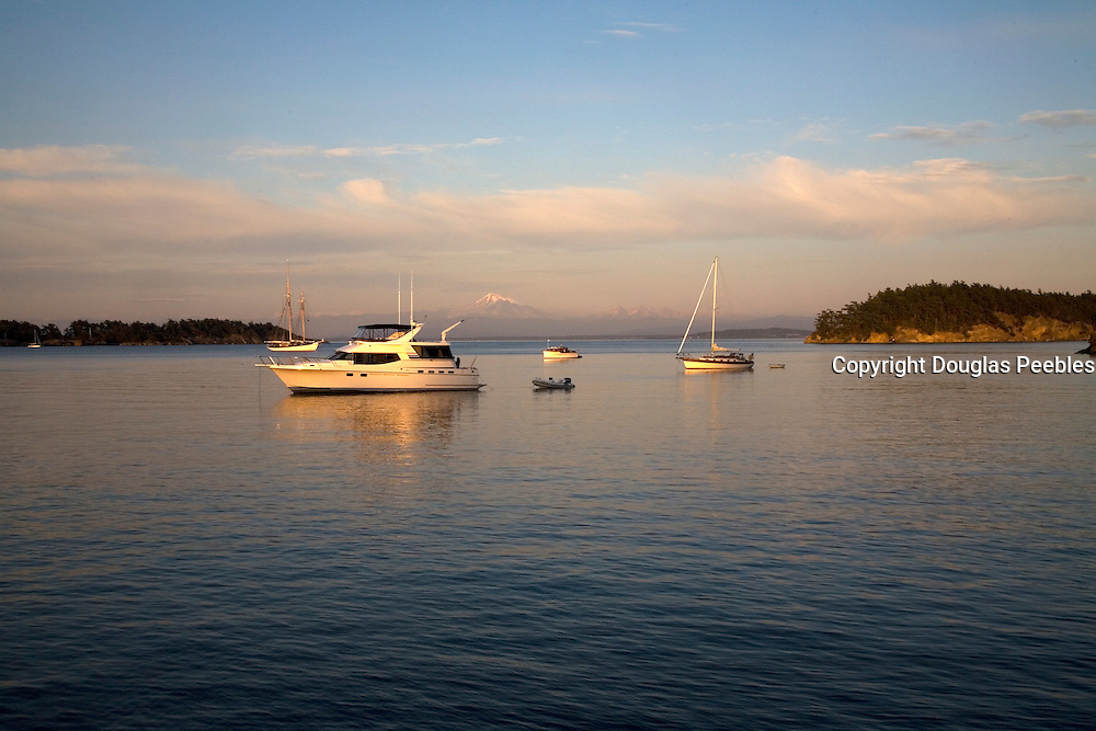 Echo Bay, Sucia Island, San Juan Islands, Washington State<br />
