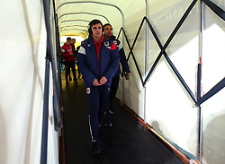 Liam Walsh of Bristol City arrives at the Macron Stadium ahead of the fixture with Bolton Wanderers - Mandatory by-line: Robbie Stephenson/JMP - 02/02/2018 - FOOTBALL - Macron Stadium - Bolton, England - Bolton Wanderers v Bristol City - Sky Bet Championship