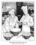 """Two Cooks Are Better Than One. """"Remember my future as a chef is involved."""""""
