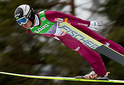 Jernej Damjan of Slovenia during Flying Hill Individual at 2nd day of FIS Ski Jumping World Cup Finals Planica 2011, on March 18, 2011, Planica, Slovenia. (Photo by Vid Ponikvar / Sportida)