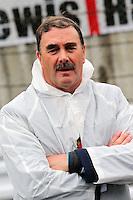 Nigel Mansell (GBR) on the grid.<br /> Japanese Grand Prix, Sunday 5th October 2014. Suzuka, Japan.