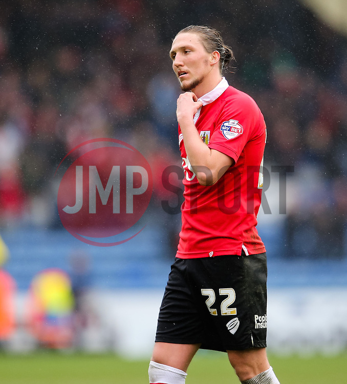 Bristol City's Luke Ayling looks dejected after the final whistle - Photo mandatory by-line: Matt McNulty/JMP - Mobile: 07966 386802 - 03/04/2015 - SPORT - Football - Oldham - Boundary Park - Oldham Athletic v Bristol City - Sky Bet League One