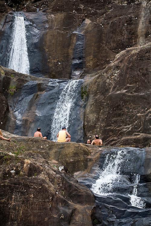 Tiradentes_MG, Brasil...Cachoeirinha Bom Despacho em Tiradentes...The Bom Despacho waterfall in Tiradentes. ..Foto: LEO DRUMOND /  NITRO