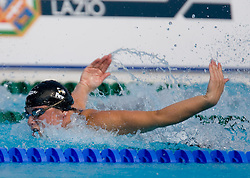 Daniela Samulski of Germany competes during the Women's 50m Butterfly Heats during the 13th FINA World Championships Roma 2009, on July 31, 2009, at the Stadio del Nuoto,  in Foro Italico, Rome, Italy. (Photo by Vid Ponikvar / Sportida)