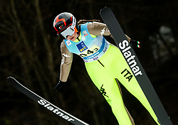 Arianna Sieff of Italy competes during Team Competition at Day 2 of World Cup Ski Jumping Ladies Ljubno 2019, on February 9, 2019 in Ljubno ob Savinji, Slovenia. Photo by Matic Ritonja / Sportida