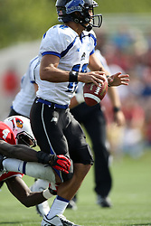 15 September 2012:  Jimmy Garoppolo during an NCAA football game between the Eastern Illinois Panthers and the Illinois State Redbirds at Hancock Stadium in Normal IL