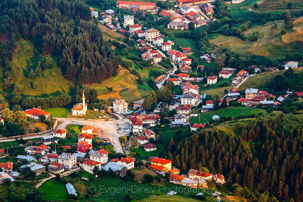 Yagodina village in Rhodope Mountains in summer