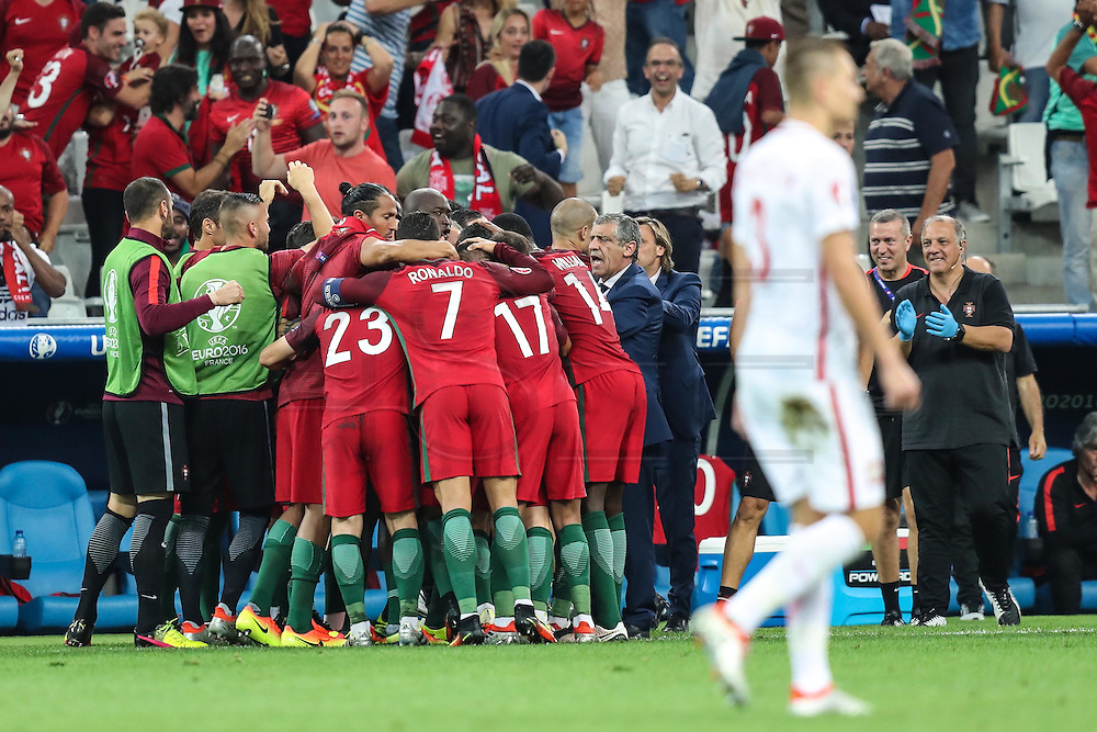 MARSEILLE, FRANCE, 30.06.2016 - PORTUGAL-POLAND - Renato Sanches from Portugal celebrates after scoring goal in match against Poland valid for the quarterfinals of Euro 2016 at the Velodrome stadium in Marseille, on Thursday (30).