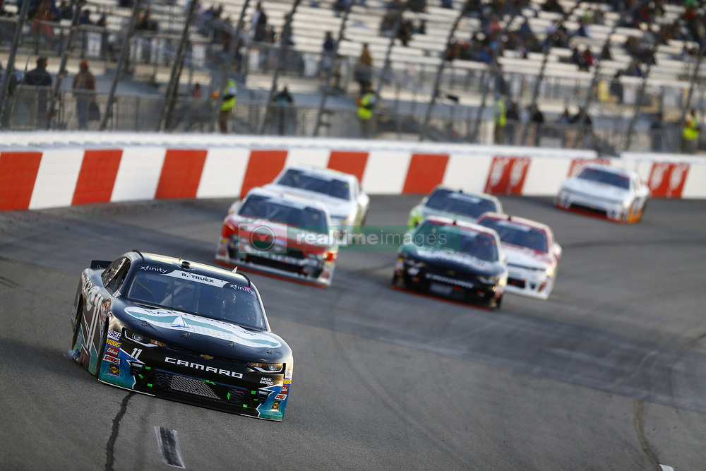 April 20, 2018 - Richmond, Virginia, United States of America - April 20, 2018 - Richmond, Virginia, USA: Ryan Truex (11) brings his race car down the front stretch during the ToyotaCare 250 at Richmond Raceway in Richmond, Virginia. (Credit Image: © Chris Owens Asp Inc/ASP via ZUMA Wire)