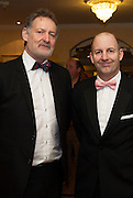 At the SCSI, (Society of Chartered Surveyors Ireland) - Western Region Annual Dinner 2016 in the Ardilaun Hotel Galway were Pat Winters and Enda McGann, Winters Property Management. Photo:Andrew Downes, xpousre