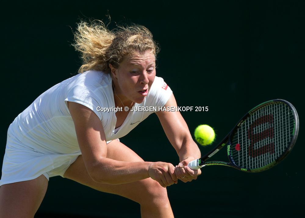 Anna-Lena Friedsam (GER)<br /> <br /> Tennis - Wimbledon 2015 - Grand Slam ITF / ATP / WTA -  AELTC - London -  - Great Britain  - 29 June 2015.