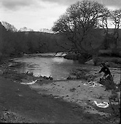 Fishing Picnic, Annamoe, Laragh, Co. Wicklow.20/05/1957