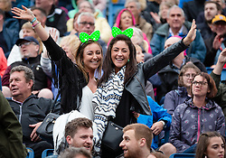 The Proclaimers at Edinburgh Castle 21 July 2019; The Proclaimers play their home town with a live show at Edinburgh Castle. Fans enjoying The Proclaimers live show.<br /> <br /> (c) Chris McCluskie   Edinburgh Elite media