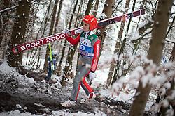 05.01.2015, Paul Ausserleitner Schanze, Bischofshofen, AUT, FIS Ski Sprung Weltcup, 63. Vierschanzentournee, Training, im Bild Stephan Leyhe (GER) // Stephan Leyhe (GER) during Training of 63rd Four Hills Tournament of FIS Ski Jumping World Cup at the Paul Ausserleitner Schanze, Bischofshofen, Austria on 2015/01/05. EXPA Pictures © 2015, PhotoCredit: EXPA/ JFK