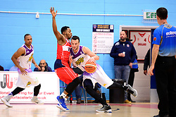 Momcilo Latinovic of London Lions - Photo mandatory by-line: Dougie Allward/JMP - 17/11/2017 - BASKETBALL - SGS Wise Arena - Bristol, England - Bristol Flyers v London Lions - BBL Championship