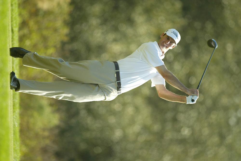 Roger Tambellini..2003 PGA Tour Qualifying, Final Stage.Sixth Round.Orange County National GC.Orlando, FL.Sunday, December 7  2003..Photograph by Darren Carroll..