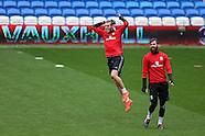 081016 Wales football team training