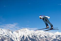 February 24, 2019 - Innsbruck, AUSTRIA - 190224 Timi Zajc of Slovenia competes in ski jumping team large hill during the FIS Nordic World Ski Championships on February 24, 2019 in Innsbruck..Photo: Joel Marklund / BILDBYRÃ…N / kod JM / 87890 (Credit Image: © Joel Marklund/Bildbyran via ZUMA Press)