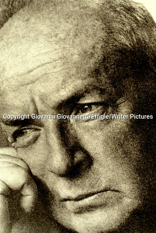 Vladimir Nabokov (1899-1977), Russian-American novelist, photographed in 1966. <br /> <br /> Copyright Giovanni Giovannetti/Effigie/Writer Pictures<br /> <br /> NO ITALY, NO AGENCY SALES