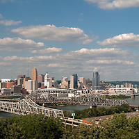 Daytime Cincinnati Skylines