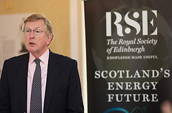 Sir Muir Russell, chair of RSE energy inquiry, outlining the findings in its report 'Scotland's Energy Future' at the Royal Society of Edinburgh HQ. pic copyright Terry Murden @edinburghelitemedia
