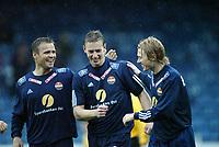 Fotball, 13. mai 2003, NM fotball herrer, Strømsgodset-Bærum,  Hans Erik Ødegaard, Lasse Olsen og Paal Christian Alsaker, Strømsgodset