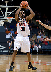Virginia Cavaliers F Adrian Joseph (30)..The Virginia Cavaliers men's basketball team defeated the Carson-Newman Eagles 124-65 in an exhibition basketball game at the John Paul Jones Arena in Charlottesville, VA on November 4, 2007.