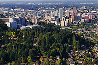 Southern View of Portland Skyline