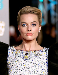 Margot Robbie attending the 72nd British Academy Film Awards held at the Royal Albert Hall, Kensington Gore, Kensington, London.