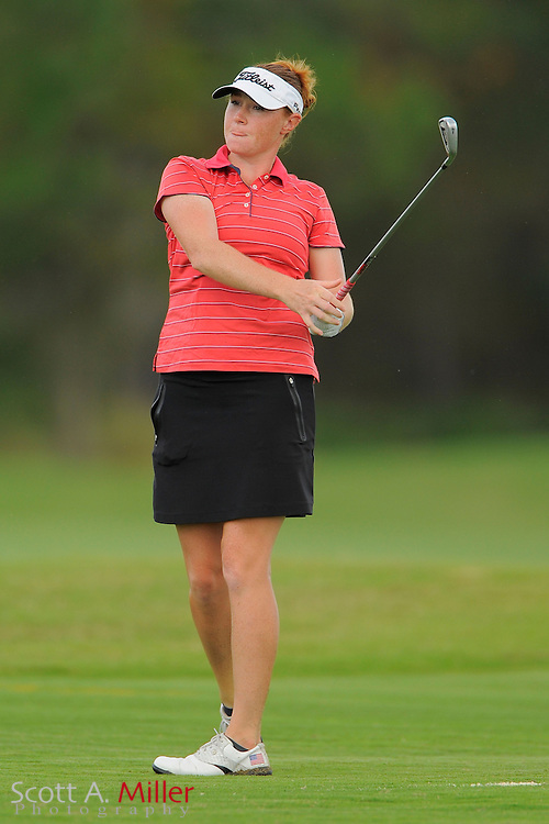Molly Aronsson in action during the Daytona Beach Invitational  at LPGA International on Sept. 29, 2012 in Daytona Beach, Florida...©2012 Scott A. Miller