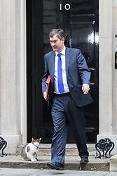 Downing Street, London, November 15th 2016.  Chief Secretary to the Treasury David Gauke leaves Downing Street following the weekly cabinet meeting.