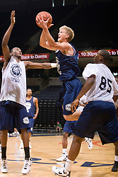2G Tyler Haws (Highland, UT / Lone Peak).  The NBA Player's Association held their annual Top 100 basketball camp at the John Paul Jones Arena on the Grounds of the University of Virginia in Charlottesville, VA on June 20, 2008