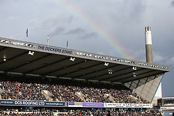 A rainbow is seen over the stadium - Mandatory by-line: Arron Gent/JMP - 17/03/2019 - FOOTBALL - The Den - London, England - Millwall v Brighton and Hove Albion - Emirates FA Cup Quarter Final