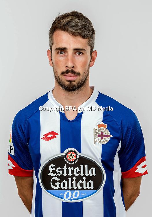 Spain - Liga BBVA 2015-2016 / <br /> ( R.C. Deportivo de La Coruna ) - <br /> Luis Carlos Correia Pinto