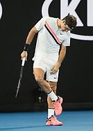 ROGER FEDERER (SUI)<br /> <br /> Tennis - Australian Open 2018 - Grand Slam / ATP / WTA -  Melbourne  Park - Melbourne - Victoria - Australia  - 26 January 2018.