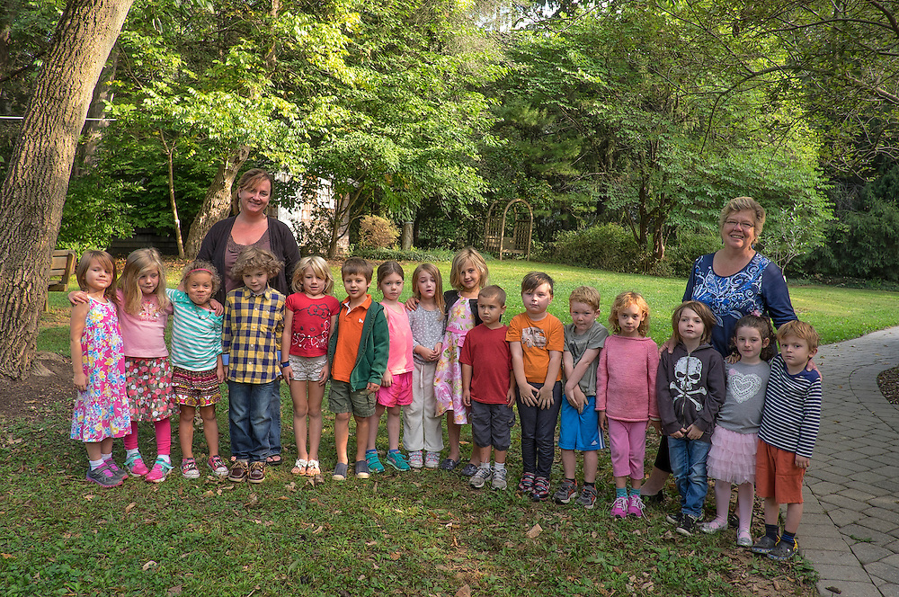 SRV FALL 2014 Kindergarten Annie and Barb's class. ©Ed Hille