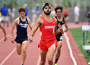 May 19, 2018; Torrance, CA, USA; Jagdeep Chahal of Burbank Burroughs win the Division I 1,600m in 4:12.73 during the CIF Southern Section Finals  at El Camino College.