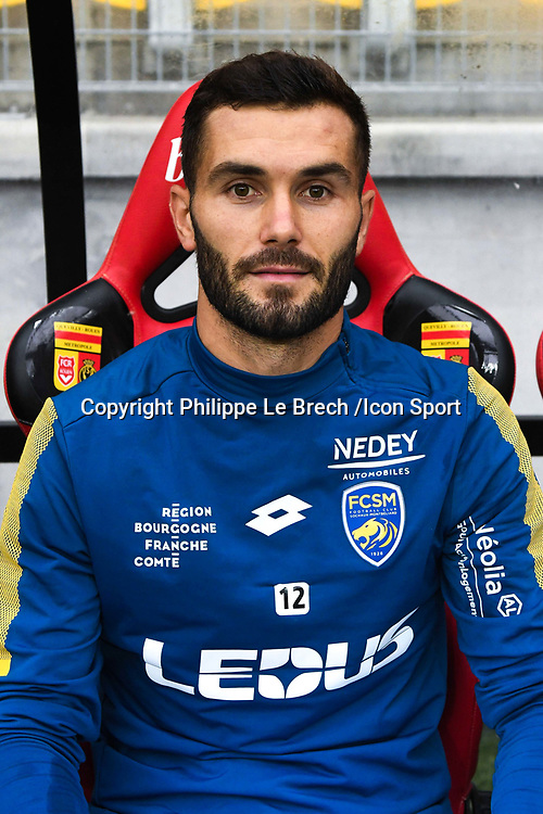 Florent Ogier  during the French Ligue 2 match between Quevilly Rouen and Sochaux at Stade Robert Diochon on August 4, 2017 in Rouen, France. 