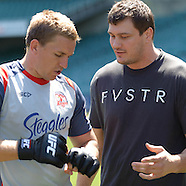 UFC Fighters meet Sydney Roosters NRL Players