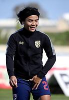 International Women's Friendly Matchs 2019 / <br /> Womens's Cyprus Cup Tournament 2019 - <br /> Nigeria v Thailand 3-0 ( Tasos Marko Stadium - Paralimni,Cyprus ) - <br /> Kanjana Sung-Ngoen of Thailand