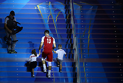September 30, 2018 - Turin, Italy - Poland v Brazil - FIVP Men's World Championship Final.Michal Kubiak of Poland with the sons during the award ceremony at Pala Alpitour in Turin, Italy on September 30, 2018. (Credit Image: © Matteo Ciambelli/NurPhoto/ZUMA Press)