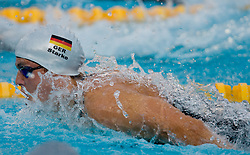 Benjamin Starke of Germany during Men's  100m Butterfly Semi-Final during the 13th FINA World Championships Roma 2009, on July 31, 2009, at the Stadio del Nuoto,  in Foro Italico, Rome, Italy. (Photo by Vid Ponikvar / Sportida)