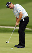 Padraig Harrington putts on the sixteenth hole during the first day of the US Open Golf Championship at Winged Foot Golf Club in Mamaroneck, New York Thursday, 15 June 2006.