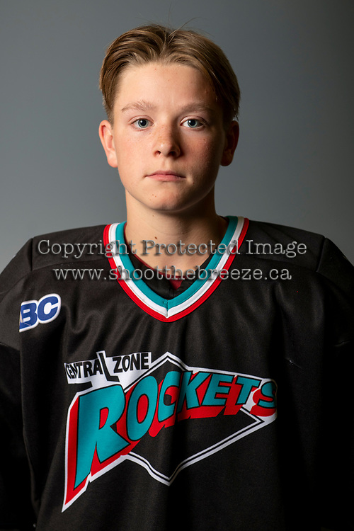 KELOWNA, BC - OCTOBER 3:  Okanagan Central Zone Bantam AA hockey at Rutland East Arena on October 3, 2019 in Kelowna, Canada. (Photo by Marissa Baecker/Shoot the Breeze)