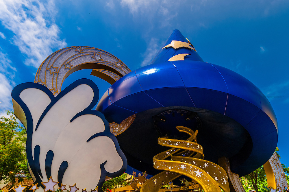 Sorcerer's Hat, Disney's Hollywood Studios, Walt Disney World, Orlando, Florida USA