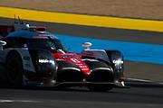 June 13-18, 2017. 24 hours of Le Mans. 8 Toyota Racing, Toyota TS050 Hybrid, Anthony Davidson, Sebastien Buemi, Kazuki Nakajima