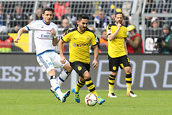 17.04.2016, Signal Iduna Park, Dortmund, GER, 1. FBL, Borussia Dortmund vs Hamburger SV, 30. Runde, im Bild Ilkay Guendogan (#8, Borussia Dortmund) // during the German Bundesliga 30th round match between Borussia Dortmund and Hamburger SV at the Signal Iduna Park in Dortmund, Germany on 2016/04/17. EXPA Pictures © 2016, PhotoCredit: EXPA/ Eibner-Pressefoto/ Deutzmann<br /> <br /> *****ATTENTION - OUT of GER*****