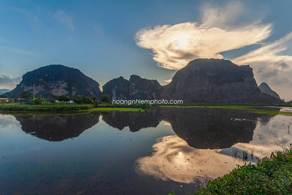 Vietnam Images-Nature-Landscape-Reflection. phong cảnh việt nam