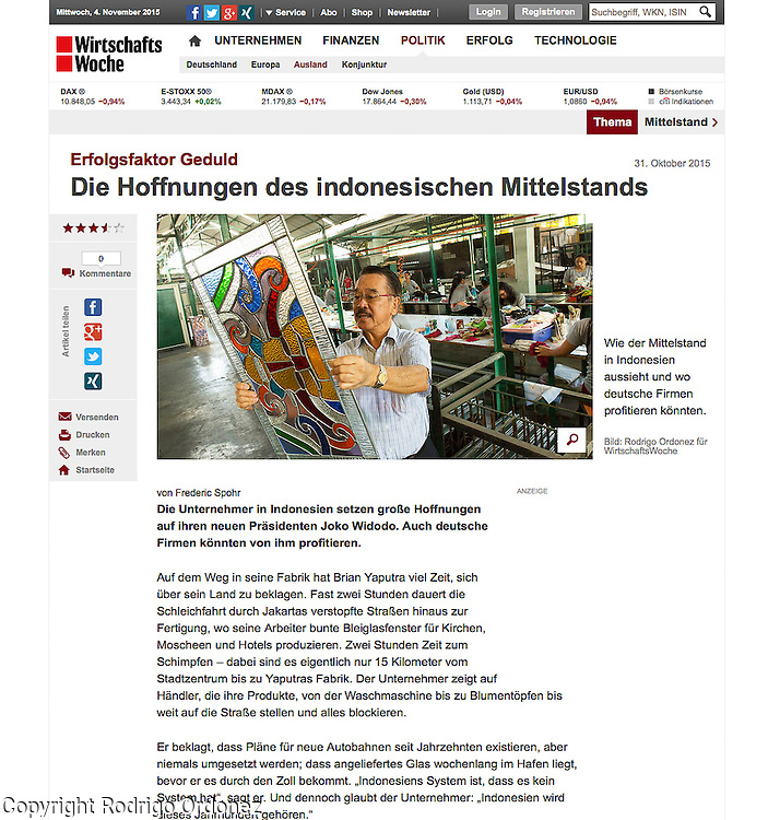 2015 10 09 Tearsheet WirtschaftsWoche SMEs in Indonesia web Eztu Glass